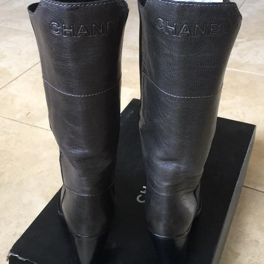 Chanel Dark gray Boots Image 3