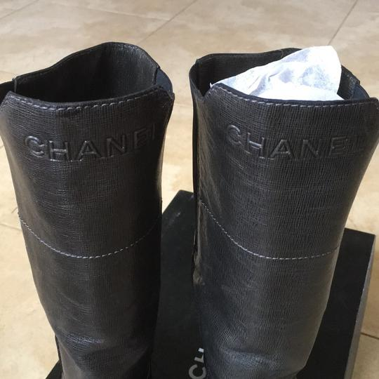 Chanel Dark gray Boots Image 4