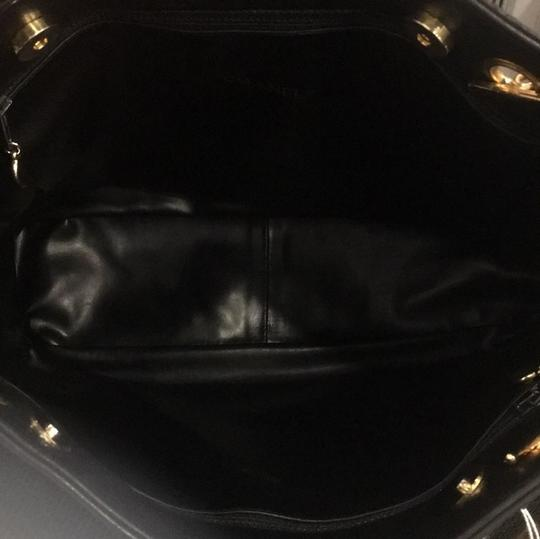 Chanel Classic Vintage Lambskin Supermodel Tote in Black Image 7