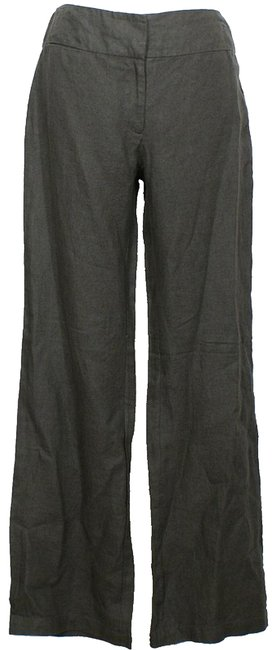 Preload https://img-static.tradesy.com/item/24099675/eileen-fisher-cinder-gray-heavy-linen-trouser-pants-size-6-s-28-0-2-650-650.jpg