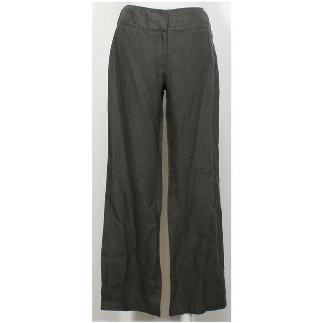 Eileen Fisher Wide Leg Pants Cinder Gray Image 2