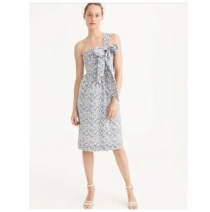 J.Crew Liberty Fabrics Limited Edition One Shoulder Dress