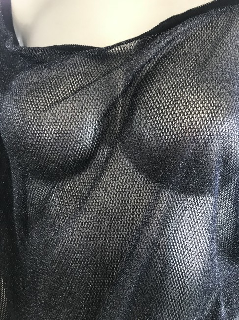 Chanel Swimsuit Rare Top Black Image 3