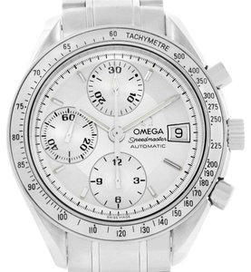 Omega Omega Speedmaster Date Silver Dial Automatic Watch 3513.30.00