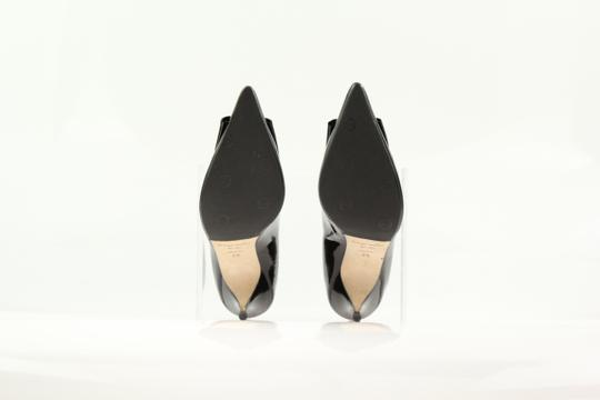 Bettye Muller Patent Leather Pointy Black Pumps Image 10