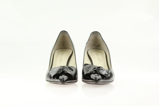 Bettye Muller Patent Leather Pointy Black Pumps Image 5