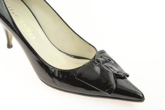 Bettye Muller Patent Leather Pointy Black Pumps Image 7