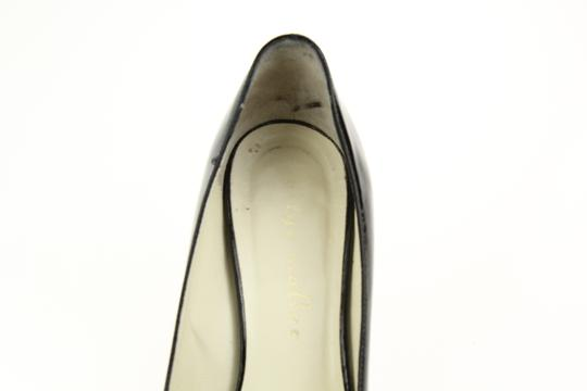 Bettye Muller Patent Leather Pointy Black Pumps Image 8