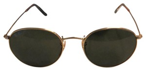 Ray-Ban Ray Ban Gold extra large rounded Ray-Ban. RB 3447 001 53mm