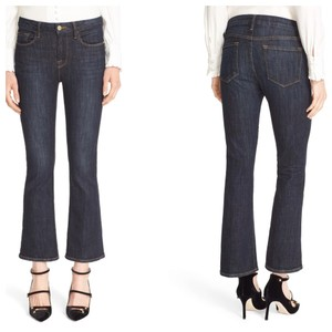 FRAME Capri/Cropped Denim-Dark Rinse