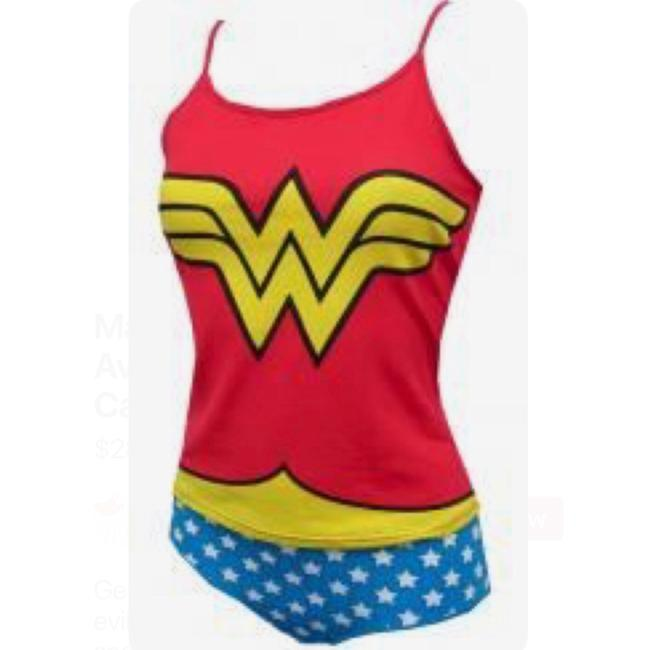 DC Comics Top red, white & blue Image 1