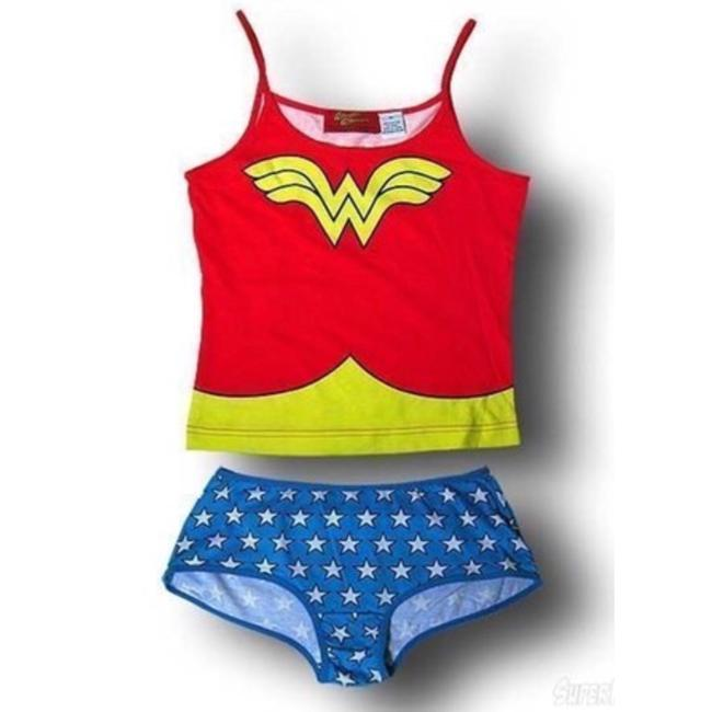DC Comics Top red, white & blue Image 2