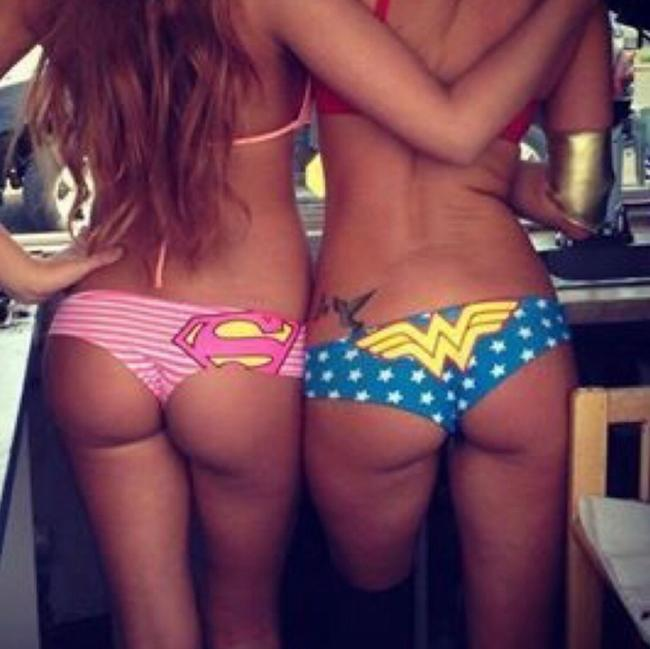 DC Comics Top red, white & blue Image 3