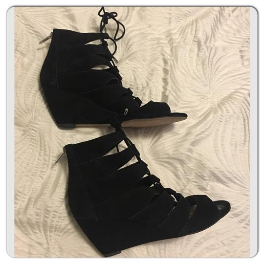 Sam Edelman Black Wedges Image 10