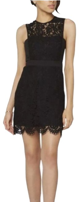 Preload https://img-static.tradesy.com/item/24100215/fame-and-partners-black-sleevless-lace-short-cocktail-dress-size-4-s-0-1-650-650.jpg