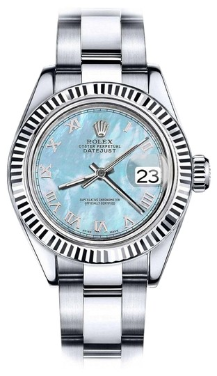 Preload https://img-static.tradesy.com/item/24100260/rolex-stainless-steel-men-s-36mm-datejust-baby-blue-mop-mother-of-pearl-roman-numeral-watch-0-1-540-540.jpg