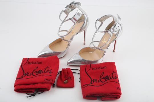 Christian Louboutin Silver Sandals Image 11