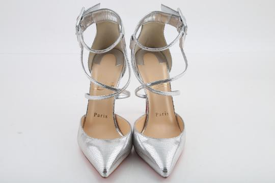 Christian Louboutin Silver Sandals Image 2