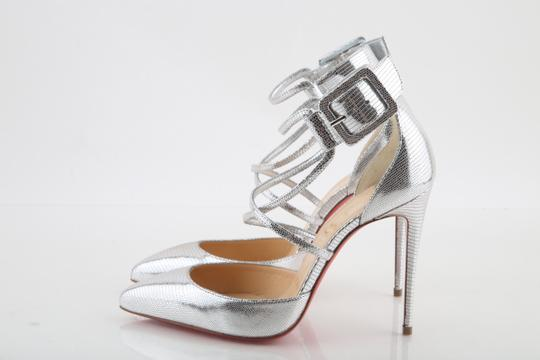 Christian Louboutin Silver Sandals Image 3
