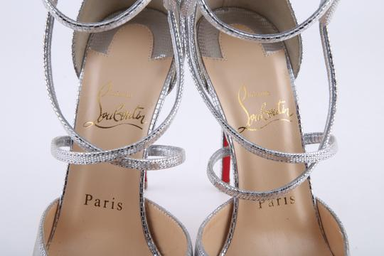 Christian Louboutin Silver Sandals Image 6