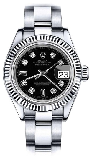 Preload https://img-static.tradesy.com/item/24100292/rolex-stainless-steel-men-s-36mm-datejust-black-color-dial-with-diamond-accent-watch-0-1-540-540.jpg