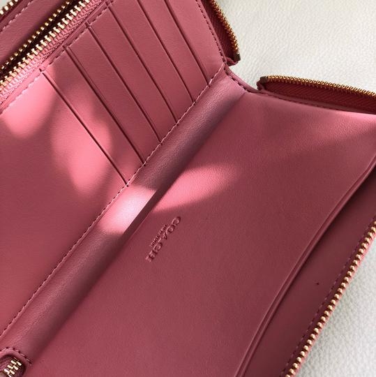 Coach Tote in Vintage Pink/Light Khaki Image 10