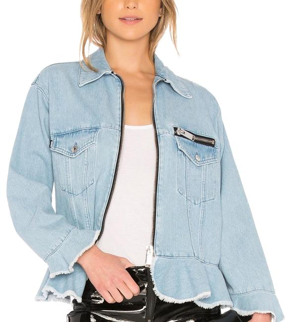 MSGM lt. denim Womens Jean Jacket Image 0