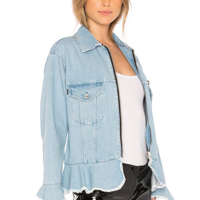 MSGM lt. denim Womens Jean Jacket Image 1