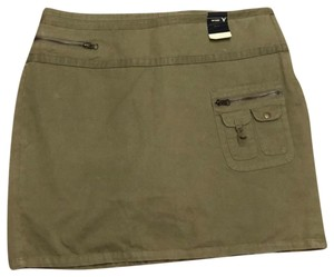 Venezia by Lane Bryant Mini Skirt green