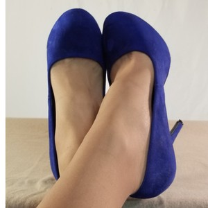 Mix No. 6 Royal Blue Platforms
