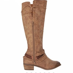 Not Rated Beige Boots