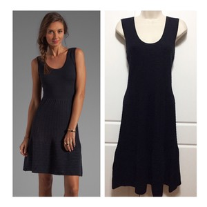 Autumn Cashmere short dress Navy on Tradesy