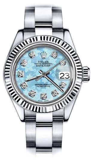 Preload https://img-static.tradesy.com/item/24100580/rolex-stainless-steel-men-s-36mm-datejust-glossy-ice-blue-flower-dial-diamond-accent-watch-0-1-540-540.jpg