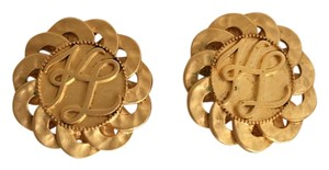 Karl Lagerfeld Karl Lagerfeld Vintage Gold Clip-ons - Mother's Day!