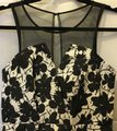 BCBGeneration Sleeveless Sheer Mesh A-line Skirt New With Tags Dress Image 1