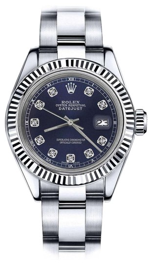 Preload https://img-static.tradesy.com/item/24100704/rolex-stainless-steel-men-s-36mm-datejust-navy-blue-color-dial-with-diamond-accent-watch-0-1-540-540.jpg