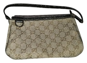 7d717dd008ad Gucci Monogram Small Purse Beige Canvas Shoulder Bag - Tradesy