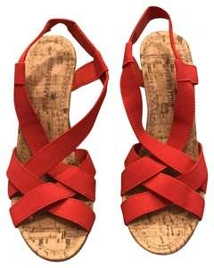 Montego Bay Club Red Wedges