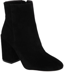 Vince Camuto Suede Leather Ankle Black Boots
