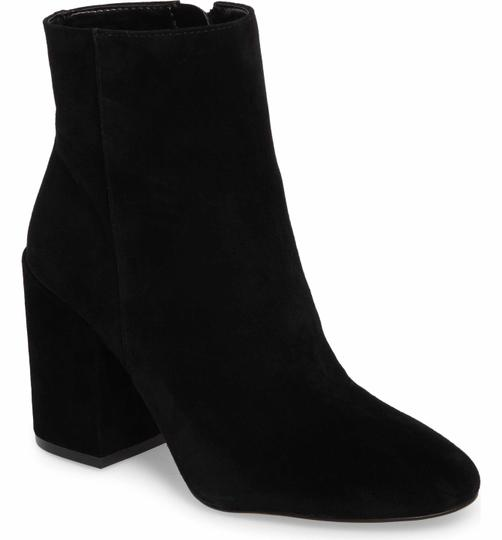 Vince Camuto Suede Leather Ankle Black Boots Image 2