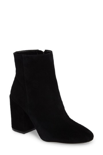 Vince Camuto Suede Leather Ankle Black Boots Image 7