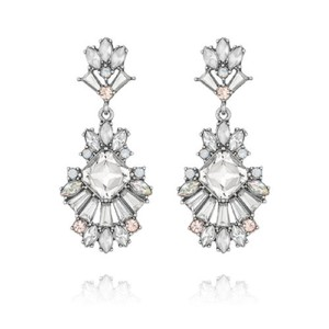 Chloe + Isabel Celestial Frost Post Drop Earrings and Hair Pin Duo (#E249 & #H006)