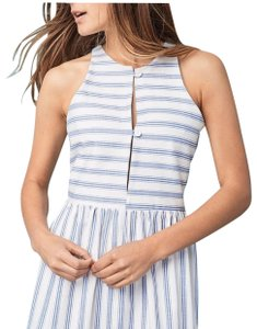 Blue and White Maxi Dress by Christy Dawn