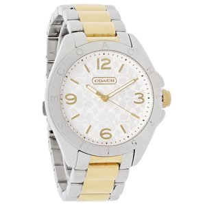 Coach Coach 14501787 White Dial Two Tone Stainless Steel Bracelet Watch