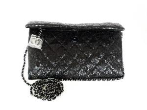 Chanel Formal Leather Cross Body Bag