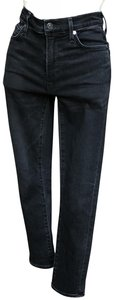 Citizens of Humanity Rocket Crop High Rise Skinny Jeans-Distressed