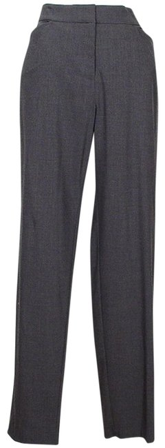 Item - Charcoal Gray Stretch Viscose Wool Modern Slim S Pants Size 6 (S, 28)
