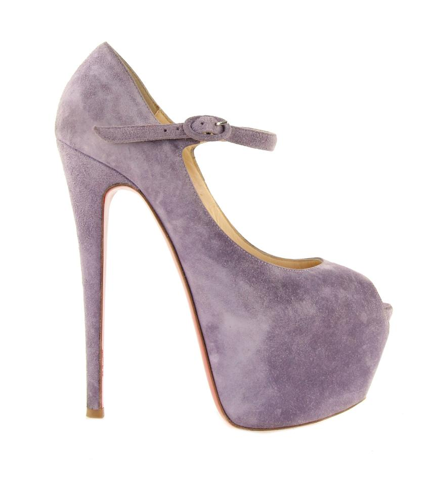 f573996e556 Christian louboutin purple lady highness suede platforms size jpg 852x960  Louboutin lady highness