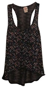 Mossimo Supply Co. Top Black with colored design
