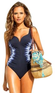 Miraclesuit Sound Waves Temptress Sweetheart One Piece Swimsui